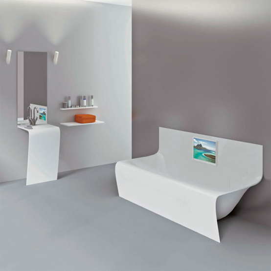 bồn tắm tròn euroca